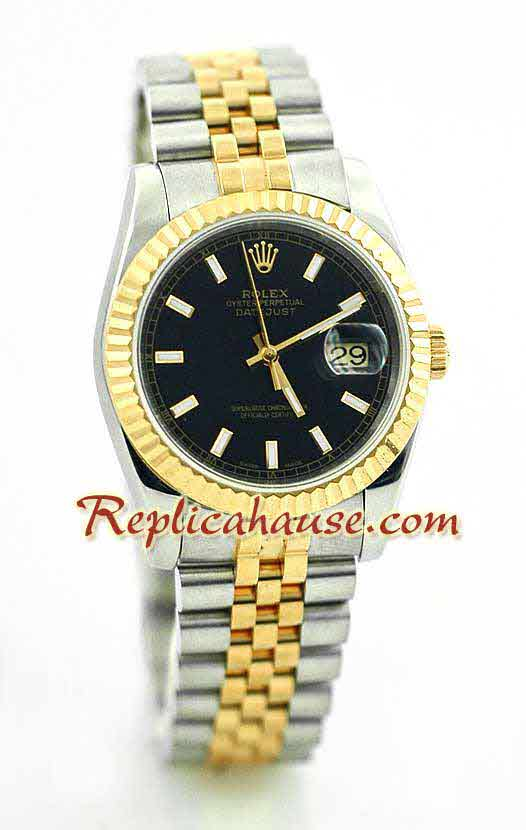 Rolex Replica Datejust two tone Watch 40
