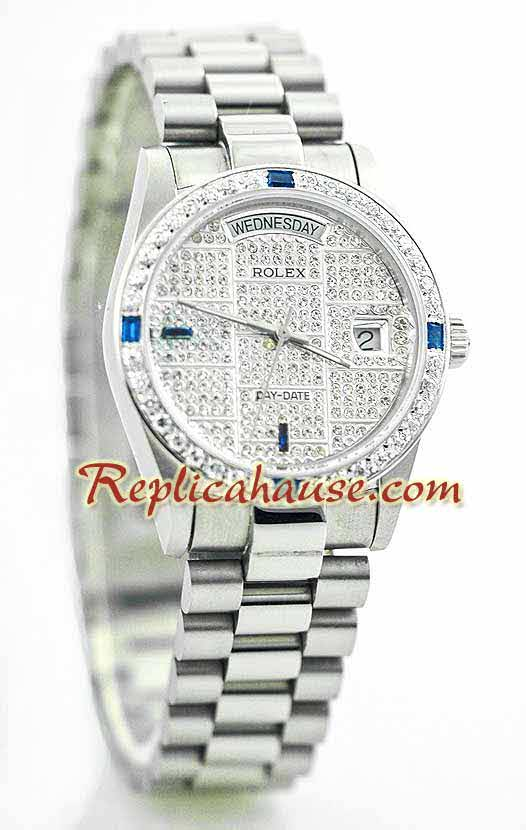Rolex Day Date Diamond - 12
