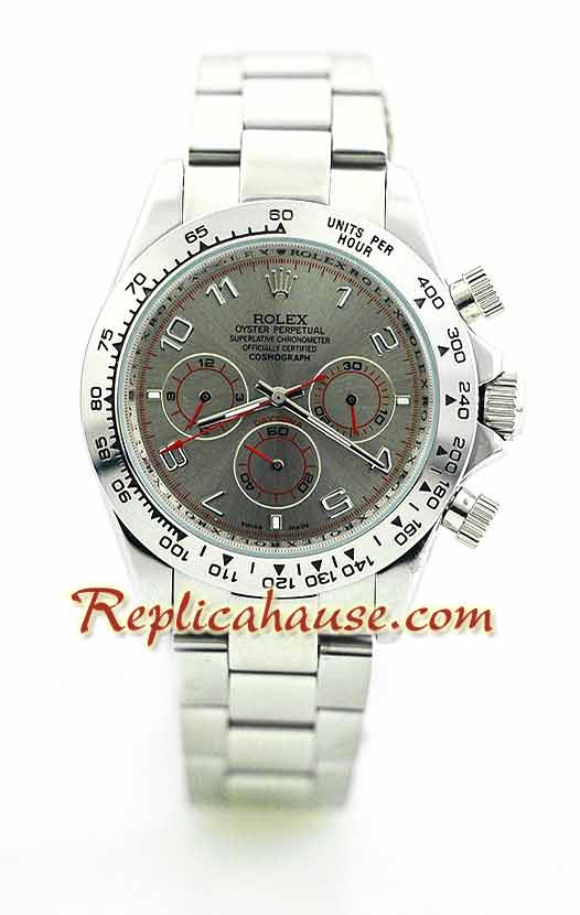 Rolex Replica Daytona Silver Watch 9