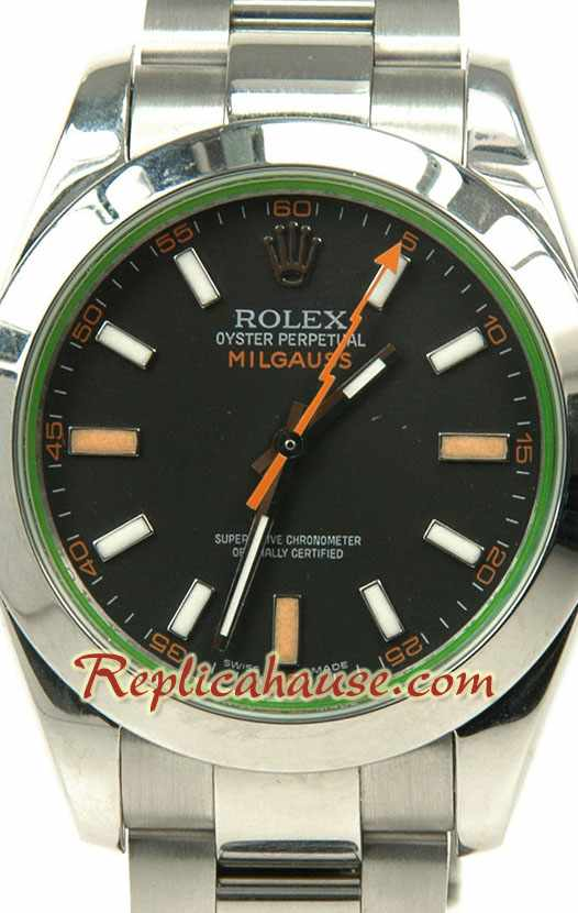 Rolex Replica Milgauss 2009 Swiss Watch 01
