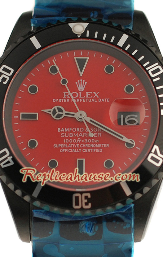 Rolex Replica Submariner Bamford and Sons Limited Edition Swiss Watch 02