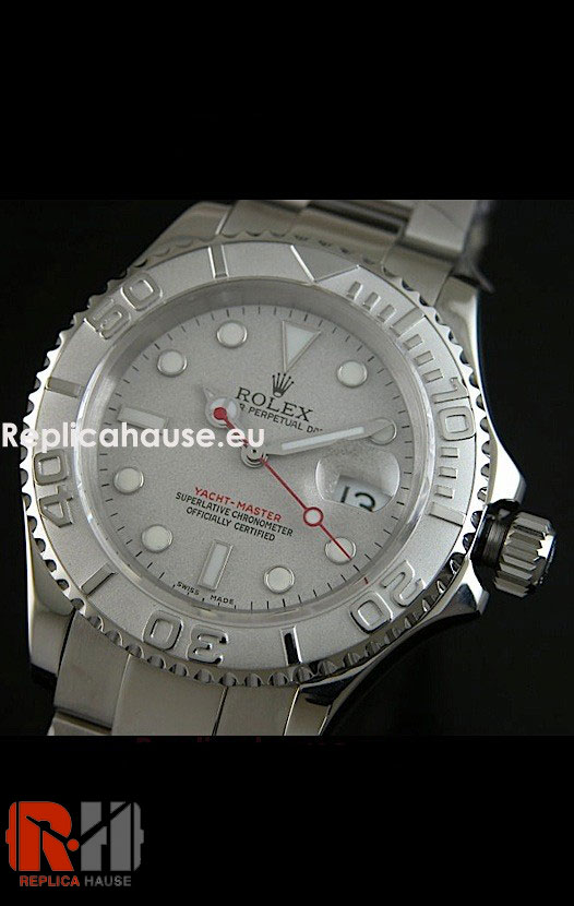 Rolex Yachtmaster Sunburst Dial Watch 03
