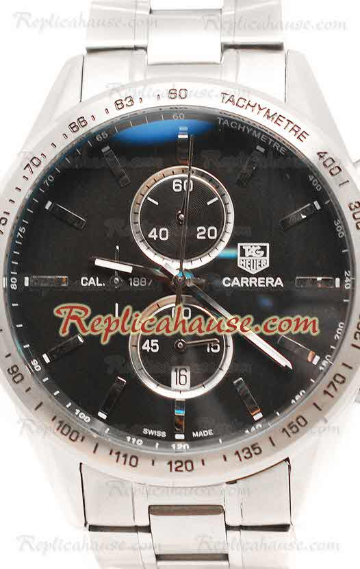 Tag Heuer Carrera Cal. 1887 Chronograph Replica Watch 02