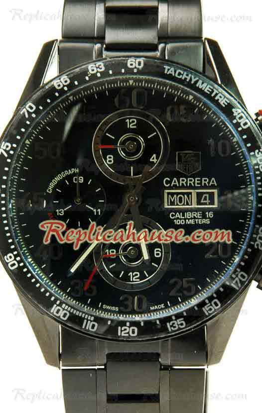 Tag Heuer Carrera Calibre 16 DayDate Japanese Watch 01