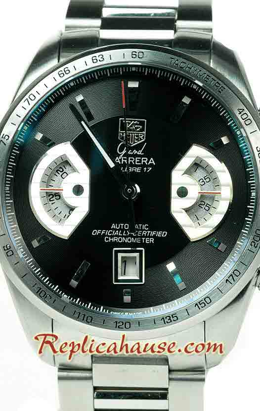 Tag Heuer Grand Carrera Calibre 17 Swiss Replica Watch 02