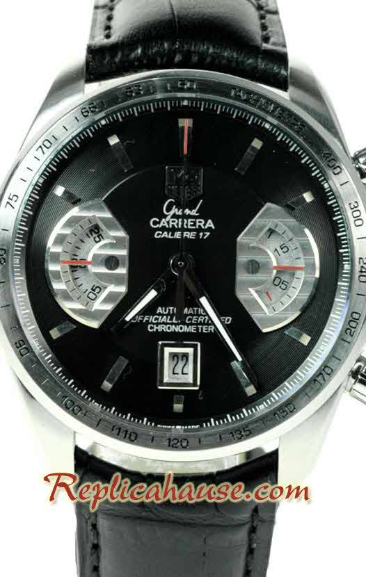 Tag Heuer Grand Carrera Calibre 17 Swiss Replica Watch 04