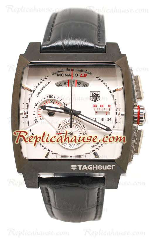 Tag Heuer Monaco LS Chronograph Calibre 12 Replica Watch 03