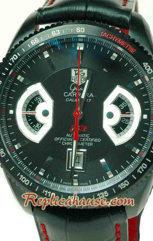 Tag Heuer Grand Carrera Calibre 17 RS2 Swiss Watch 01