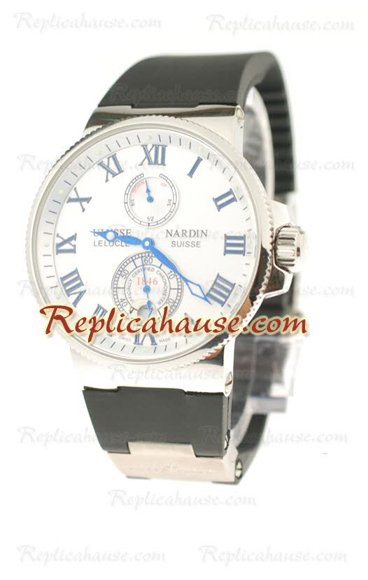 Ulysse Nardin Maxi Marine Chronometer Replica Watch 21