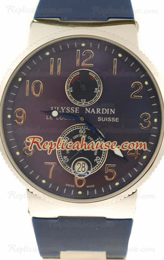 Ulysse Nardin Maxi Marine Chronometer Replica Watch 26