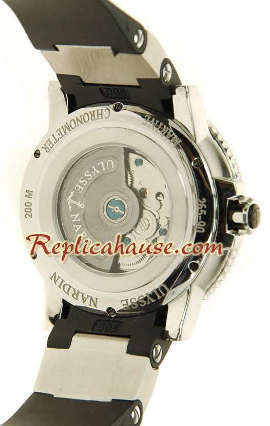 Ulysse Nardin Maxi Marine Chronometer Swiss Replica Watch 10