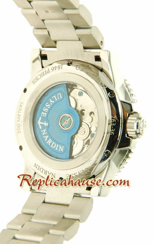 Ulysse Nardin Maxi Marine Chronometer Swiss Replica Watch 05
