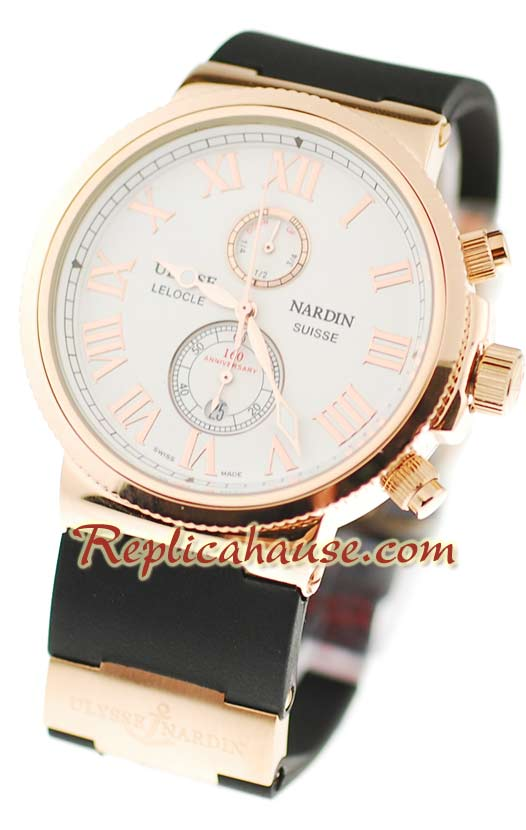 Ulysse Nardin Maxi Marine Chronometer Replica Watch 14