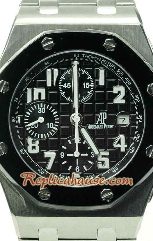 Audemars Piguet Swiss Ceramic Bezel Watch 08
