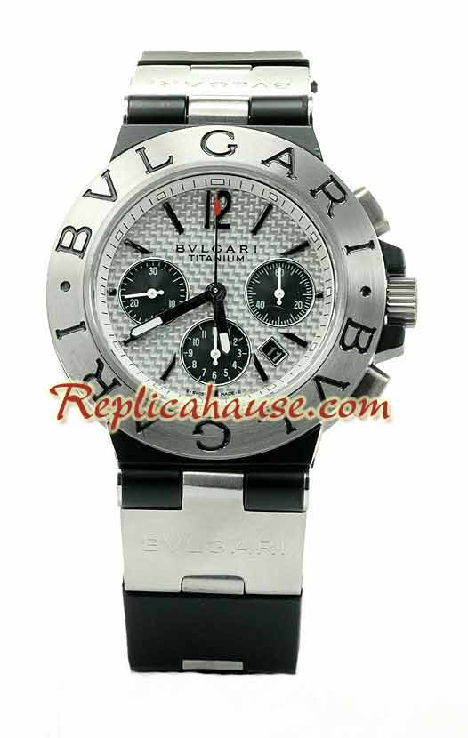 Bvlgari Scuba Titanium Swiss Watch 01