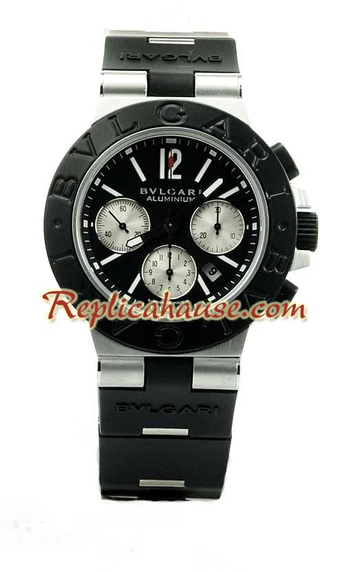 Bvlgari Scuba Swiss Replica Watch 03