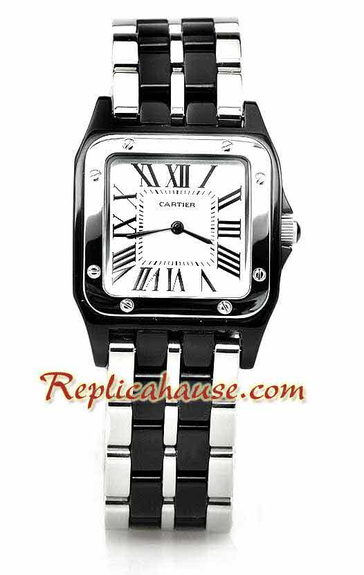 Cartier Demosille Mid Sized Replica Watch 04