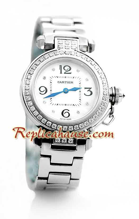 Cartier De Pasha Ladies Swiss Replica Watch 05