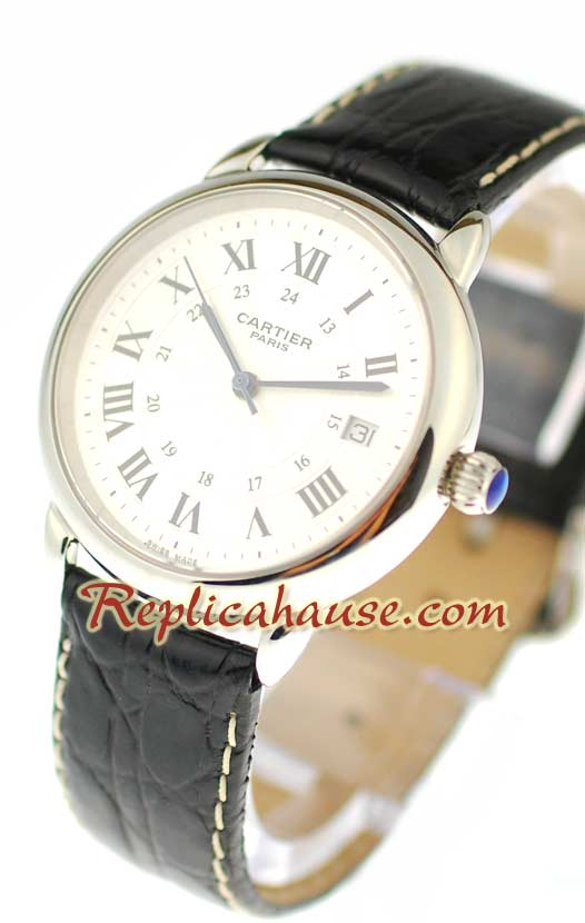 Ronde Cartier Louis Swiss Watch 01