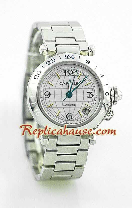 Cartier De Pasha Swiss Replica Watch 1