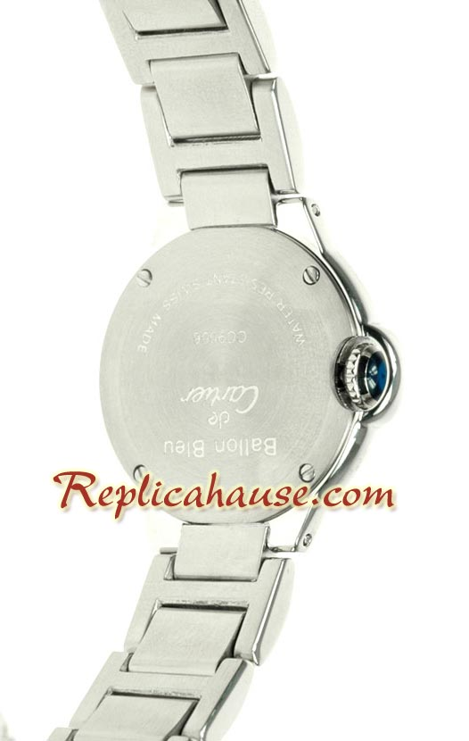 Cartier De Balloon Swiss Replica Watch - Ladies 01