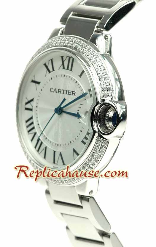 Cartier De Balloon Swiss Replica Watch - Mens 01