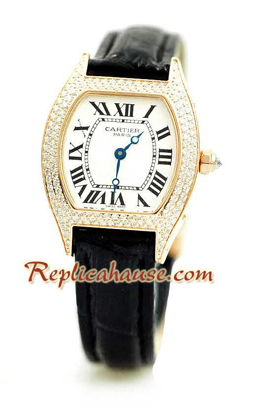 Cartier Tortue Swiss Ladies Replica Watch 2<font color=red>������Ǥ���</font>