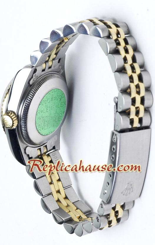 Rolex DateJust Two Tone Ladies - 15