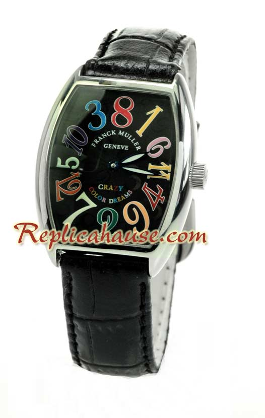 Franck Muller Crazy Hours Replica Watch 15
