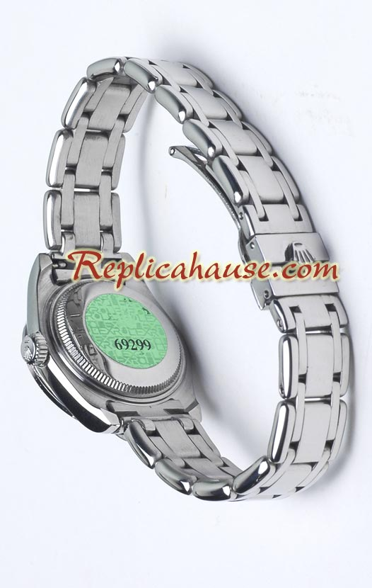 Rolex Replica Datejust Ladies - Dark Grey Dial