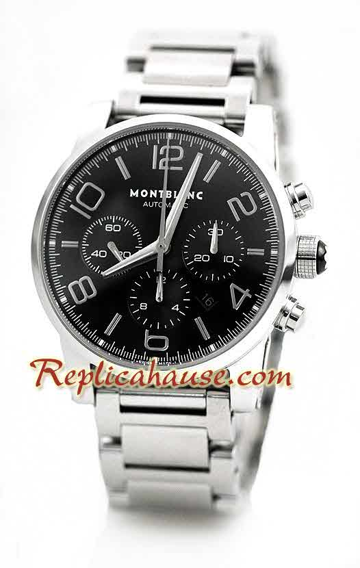 Mont Blanc Timewalker Swiss Replica Watch 2