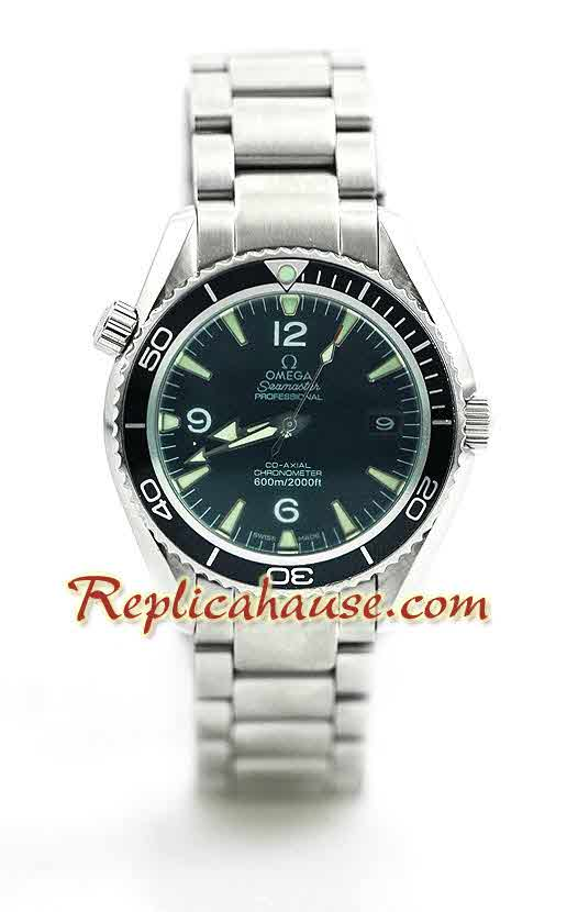 Omega Seamaster Planet Ocean Edition Ladies Replica Watch 1