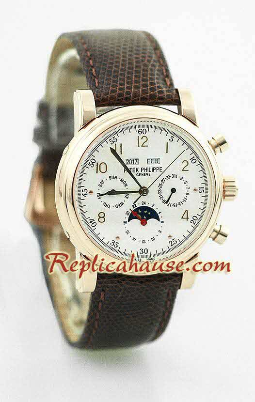 Patek Philippe Grand Complications Swiss Watch 4