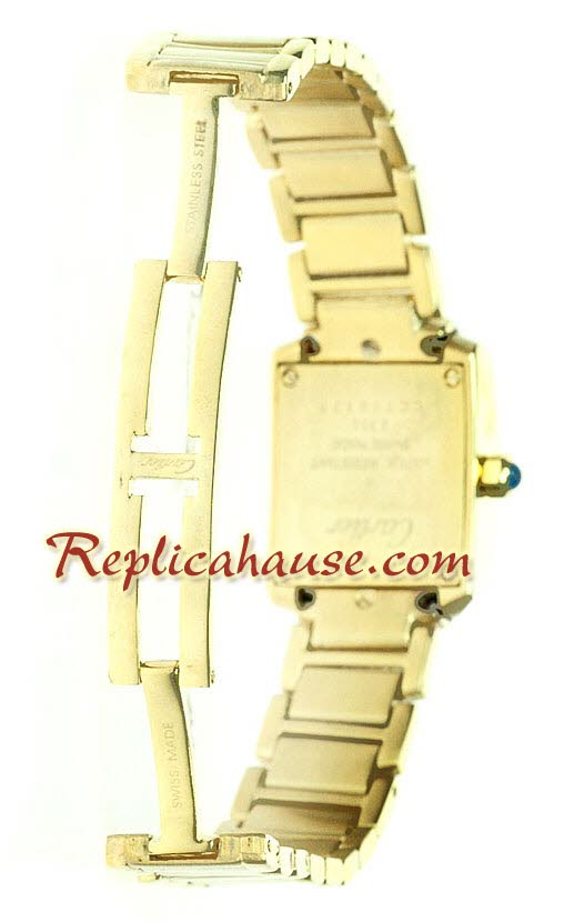 Cartier Tank Gold - Ladies Watch