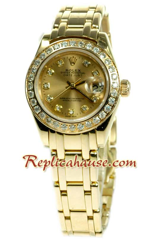 Rolex Replica Swiss Datejust Ladies Watch 56
