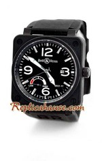 Bell and Ross BR01-97 Power Reserve Swiss Replica Watch 2