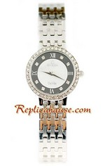 Omega Co-Axial Deville Ladies Replica Watch 01