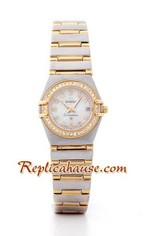 Omega Constellation Replica Watch Ladies 4