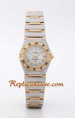 Omega Constellation Replica Watch Ladies 1