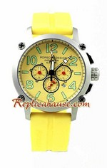 Porsche Design Indicator Yellow Watch 2