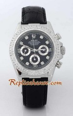 Rolex Replica Daytona Leather Watch 24