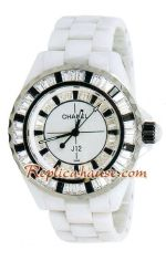 Chanel J12 Jewelry Authentic Ceramic Watch 10