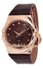 Omega Constellation 2012 Replica Watch Ladies 3