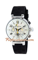 Louis Vuitton Tambour Automatic Chronograph Lady Watch 03