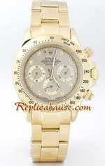 Rolex Replica Daytona Gold Diamond - 11