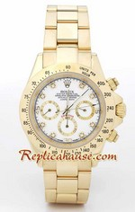 Rolex Replica Daytona Gold White Dial - 08