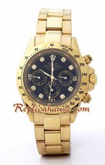 Rolex Replica Daytona Gold Diamond - 12