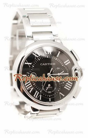 Ballon Blue De Cartier Chronograph Swiss Replica Watch 02