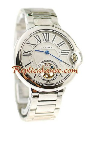 Ballon Blue De Cartier flying Tourbillon Replica Watch 7