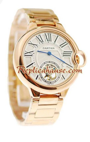 Ballon Blue De Cartier flying Tourbillon Replica Watch 9
